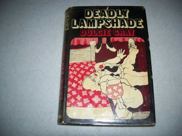 Deadly Lampshade, Gray, Dulcie