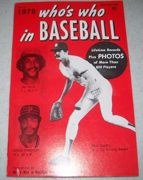 Who's Who in Baseball 1979, 64th Edition, N/A