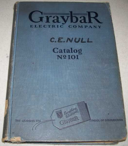 Graybar Electric Company Catalog No. 101, N/A