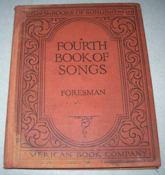 Fourth Book of Songs (Books of Songs series), Foresman, Robert