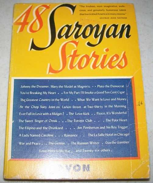 48 Saroyan Stories, Saroyan, William