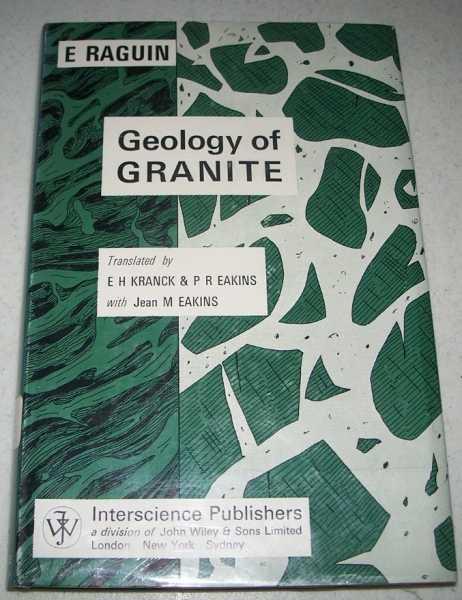 Geology of Granite, Raguin, E.