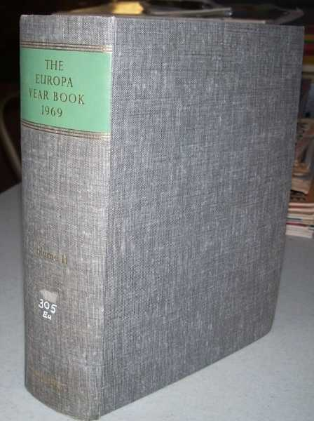 The Europa Year Book 1969 Volume II: Africa, the Americas, Asia, Australasia, N/A