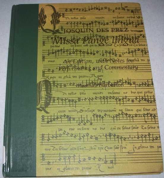 Missa Pange Lingua (Early Musical Masterworks), des Prez, Josquin; Warburton, Thomas (notes)