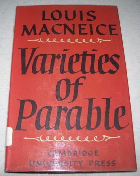 Varieties of Parable, Macneice, Louis