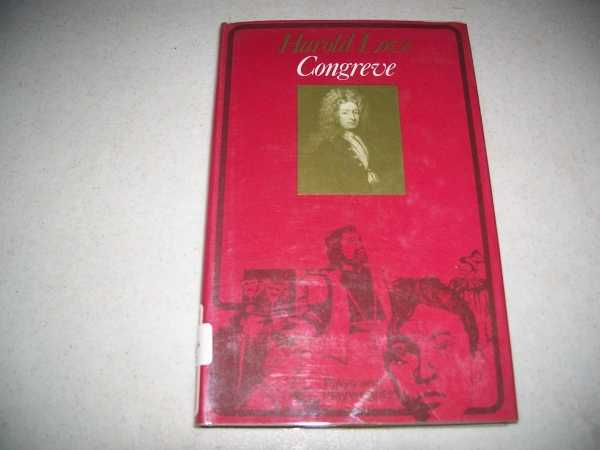 Congreve (Plays and Playwrights Series), Love, Harold