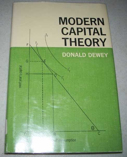 Modern Capital Theory, Dewey, Donald