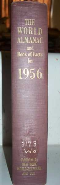 The World Almanac and Book of Facts for 1956, Hansen, Harry (ed.)