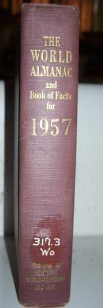 The World Almanac and Book of Facts for 1957, Hansen, Harry (ed.)