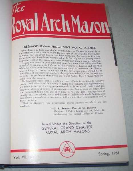 The Royal Arch Mason Volume VII, 1961-1963 Bound in One Volume, N/A