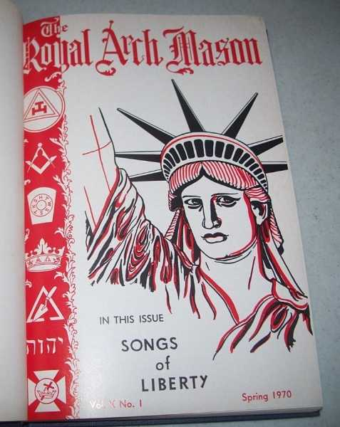 The Royal Arch Mason Volume X, 1970-1973 Bound in One Volume, N/A