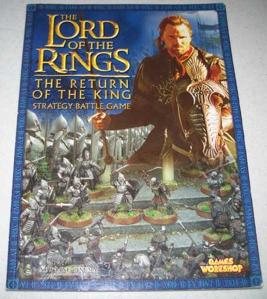 The Lord of the Rings: The Return of the King, Strategy Battle Game, Cavatore, Alessio
