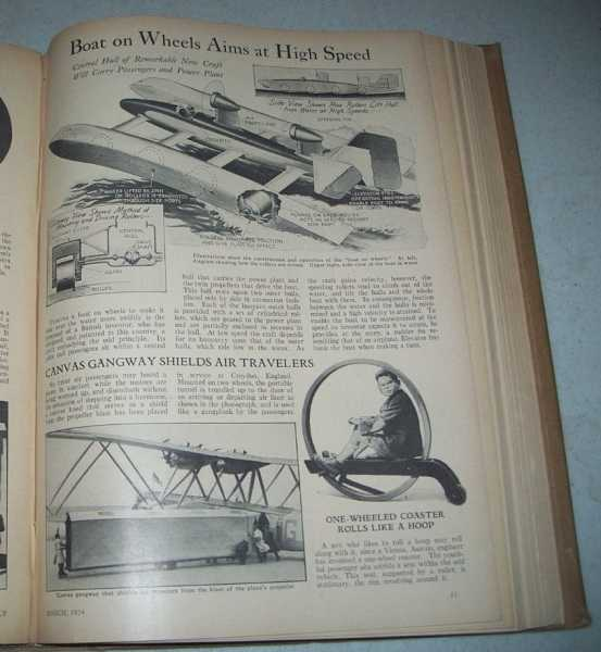 Popular Science Monthly Volume 124, January-June 1934 Bound in One Volume, N/A