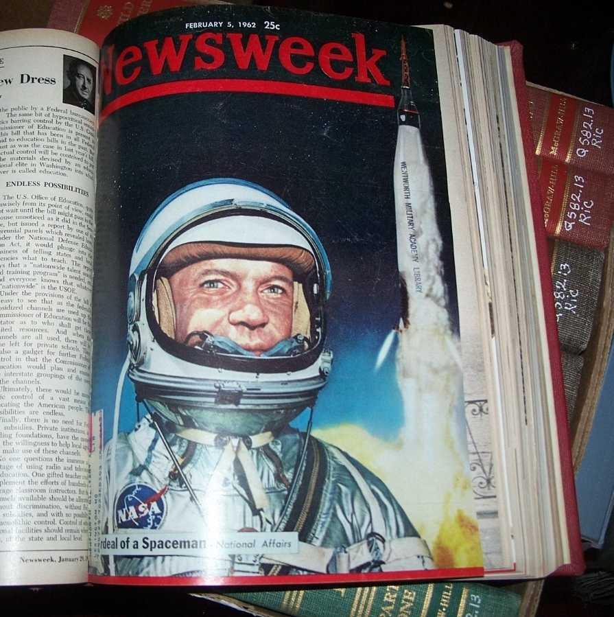 Newsweek Magazine Volume 59, January-March 1962 Bound in One Volume, N/A