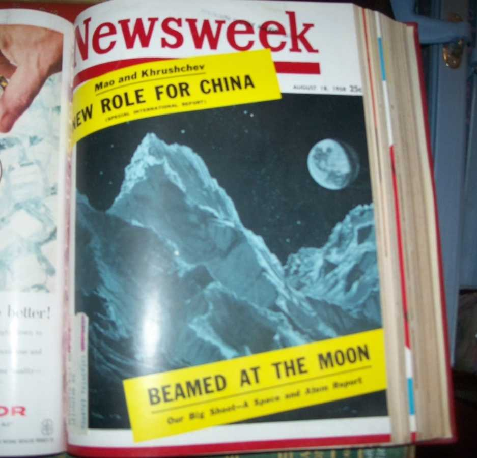 Newsweek Magazine Volume 52, July-September 1958 Bound in One Volume, N/A