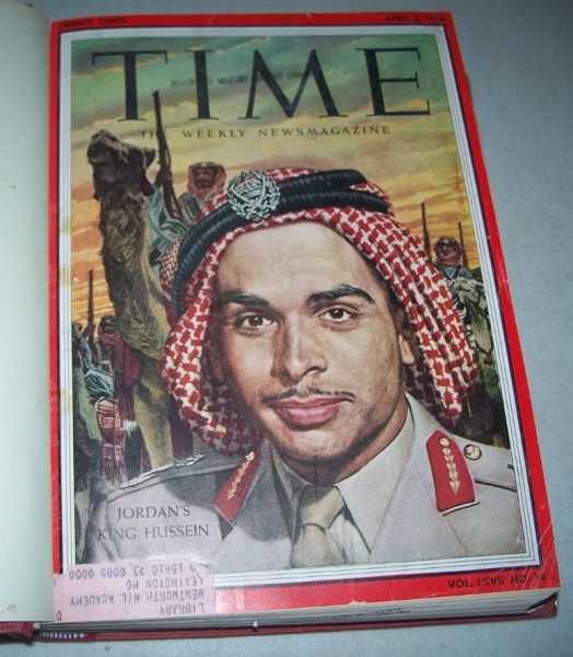 Time Magazine Volume 67, April-June 1956 Bound in One Volume, N/A