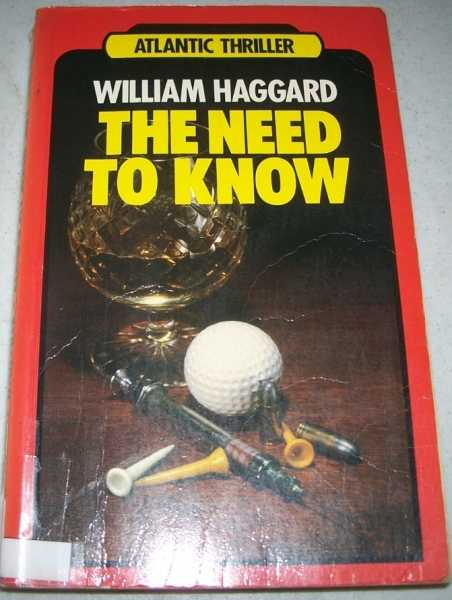 The Need to Know (Atlantic Large Print), Haggard, William