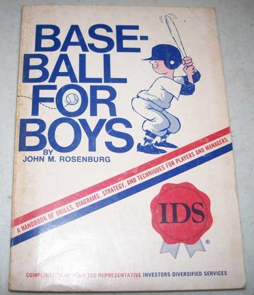 Baseball for Boys, Rosenburg, John M.