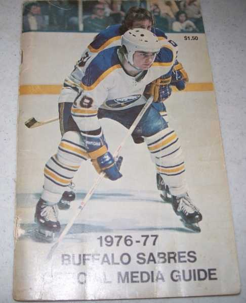 1976-77 Buffalo Sabres Official Media Guide, N/A
