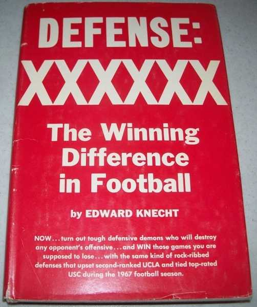Defense: The Winning Difference in Football, Knecht, Edward