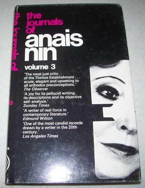 The Journals of Anais Nin Volume 3: 1939-1944, Nin, Anais; Stuhlmann, Gunther (ed.)