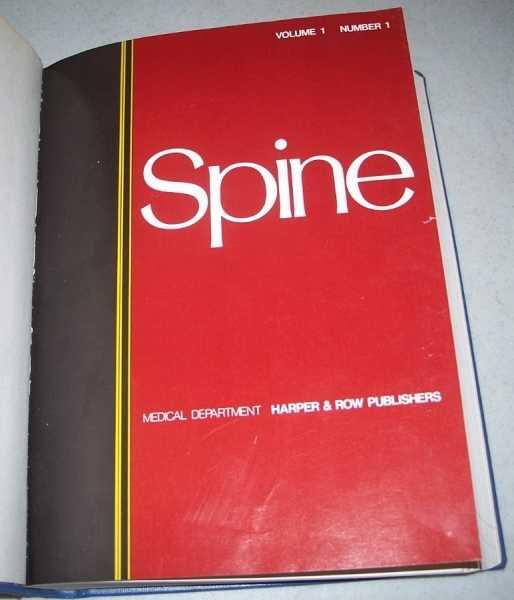 Spine Volume 1-2, 1976-77 Bound in One Volume, LaRocca, Henry (ed.)
