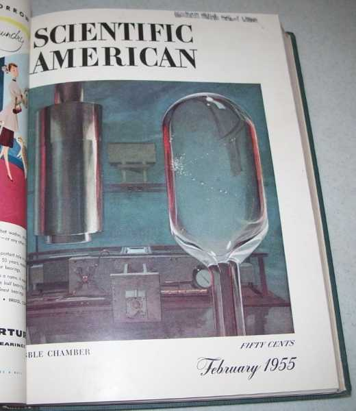 Scientific American Magazine Volume 192, January-June 1955 Bound in One Volume, N/A