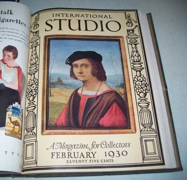 International Studio: Magazine for Collectors, Volume 95, January-April 1930, Four Issues Bound Together, N/A