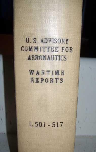National Advisory Committee for Aeronautics (NACA) Wartime Report L501-L517, Various