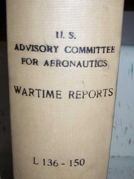 National Advisory Committee for Aeronautics (NACA) Wartime Report L136-L150, Various