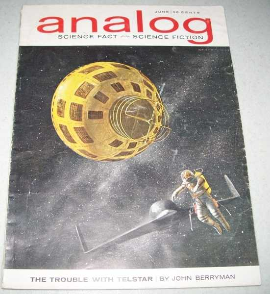 Analog Science Fact/Science Fiction Magazine June 1963, N/A