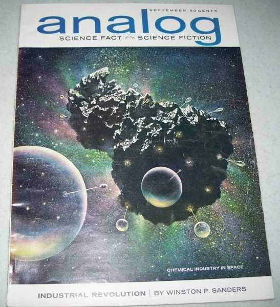 Analog Science Fact/Science Fiction Magazine September 1963, N/A