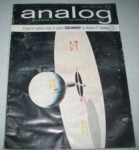 Analog Science Fact/Science Fiction Magazine April 1964, N/A