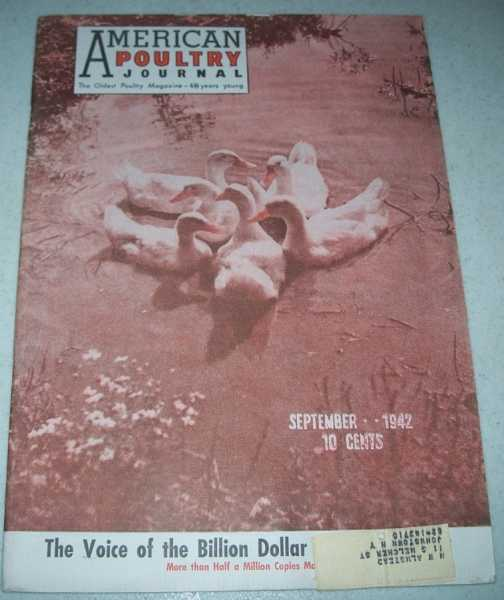American Poultry Journal September 1942, N/A