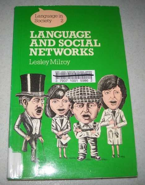 Language and Social Networks (Language in Society 2), Milroy, Lesley