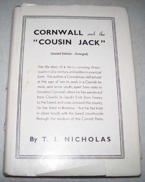 Cornwall and the Cousin Jack, Nicholas, T.J.