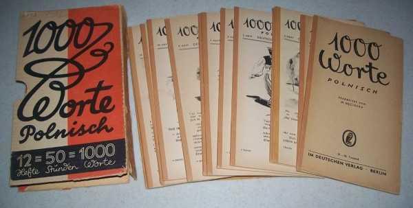 1000 Worte Polnisch (13 Booklets), Mecinska, M.