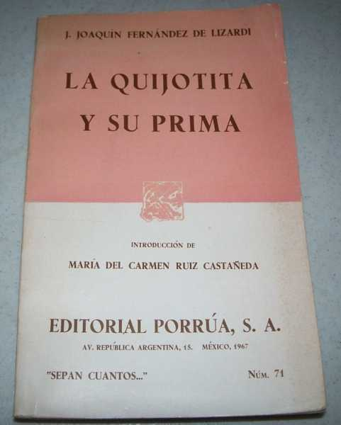 La Quijotita y su Prima, Fernandez de Lizardi, J. Joaquin