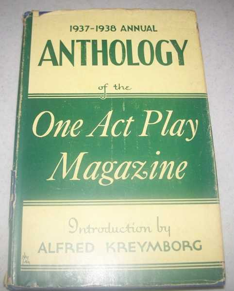 1937-1938 Anthology of the One Act Play Magazine, N/A
