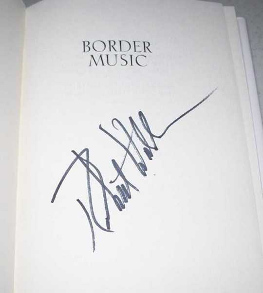 Border Music: A Novel, Waller, Robert James