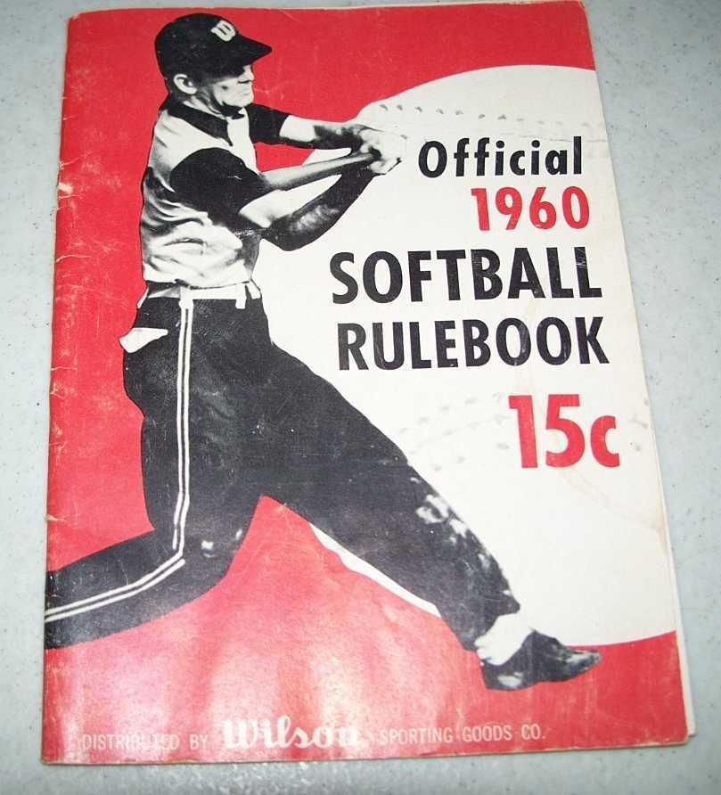 Official 1960 Softball Rulebook, N/A