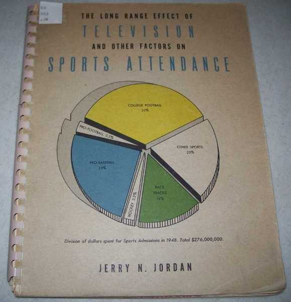 The Long Range Effect of Television and Other Factors on Sports Attendance, Jordan, Jerry N.