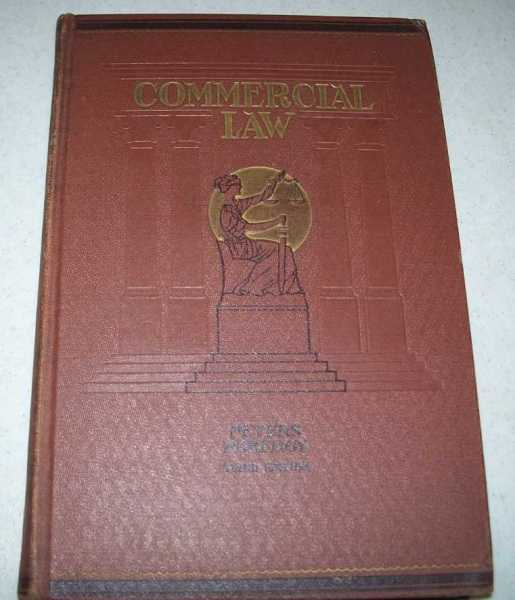 Commercial Law, Third Edition, Peters, P.B.S. and Pomeroy, Dwight A.