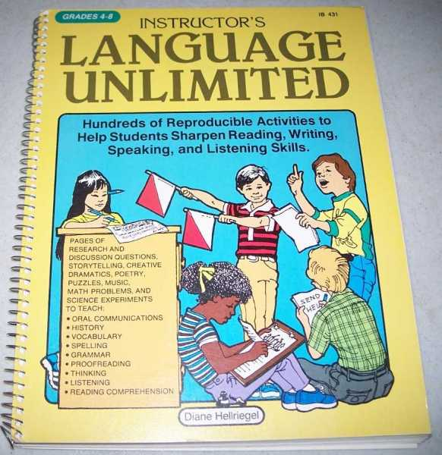 Instructor's Language Unlimited Grades 4-8, Hellriegel, Diane