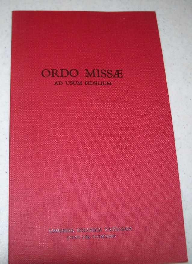 Ordo Misae ad Usum Fidelium, N/A