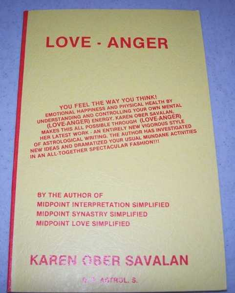 Love-Anger, Savalan, Karen Ober