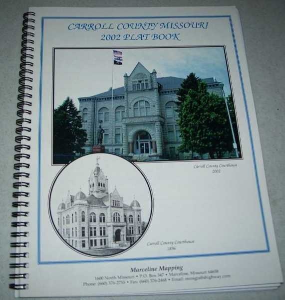Carroll County Missouri 2002 Plat Book, N/A