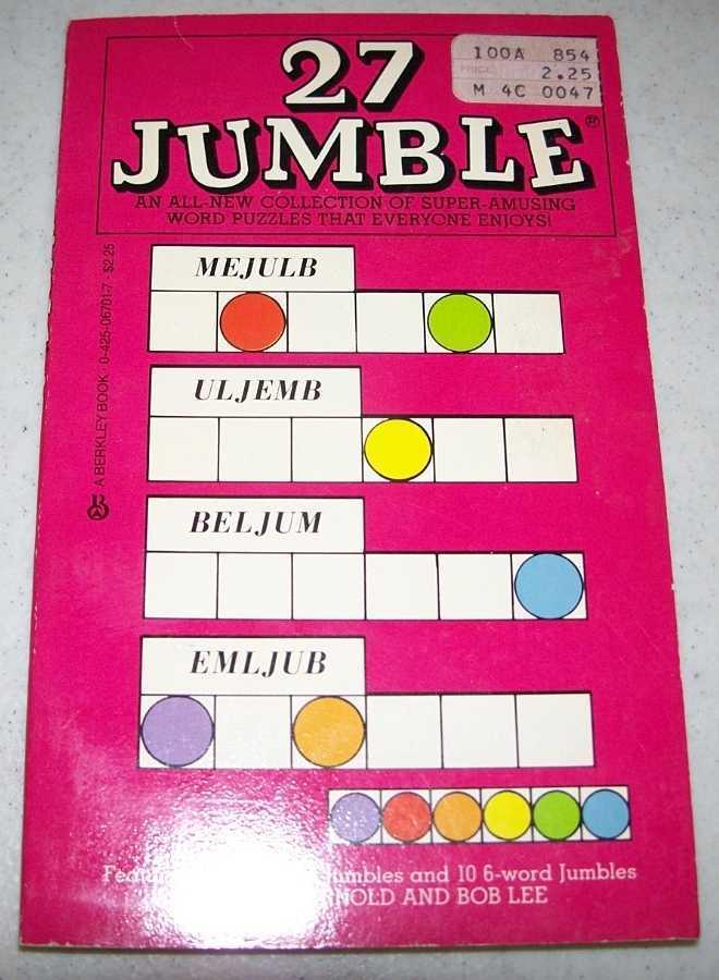 Jumble #27, Arnold, Henri and Lee, Bob