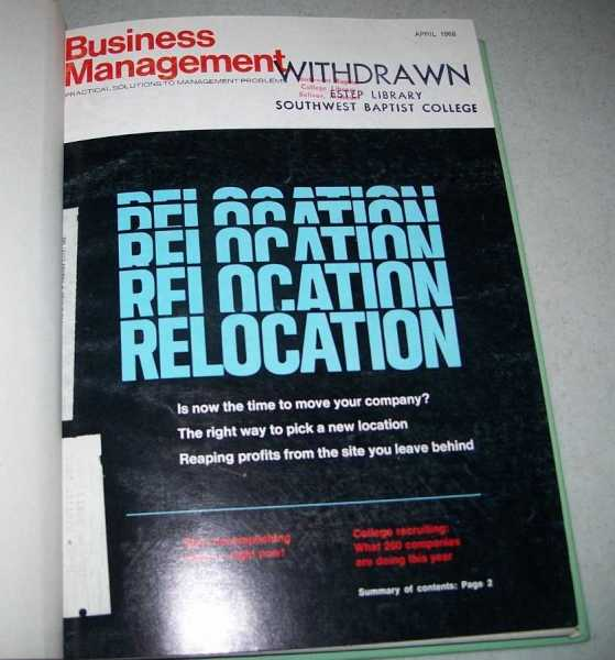 Business Management Magazine Volume 34, April-September 1968, N/A