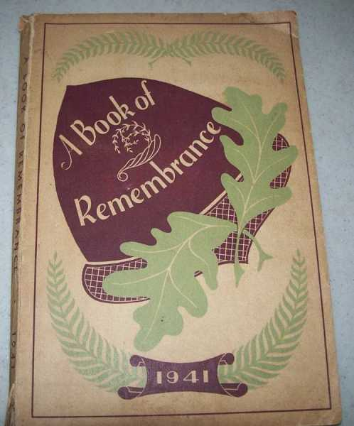 A Book of Remembrance 1941, N/A